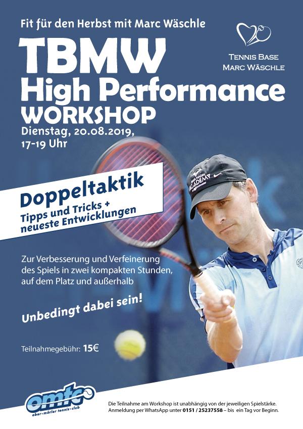 TBMV High Performance Workshop